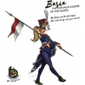 Hot & Dangerous: Basia, the Chevaux-legere of the Guard (28 mm)
