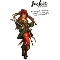 Hot & Dangerous: Jackie, the Pirate (54 mm)
